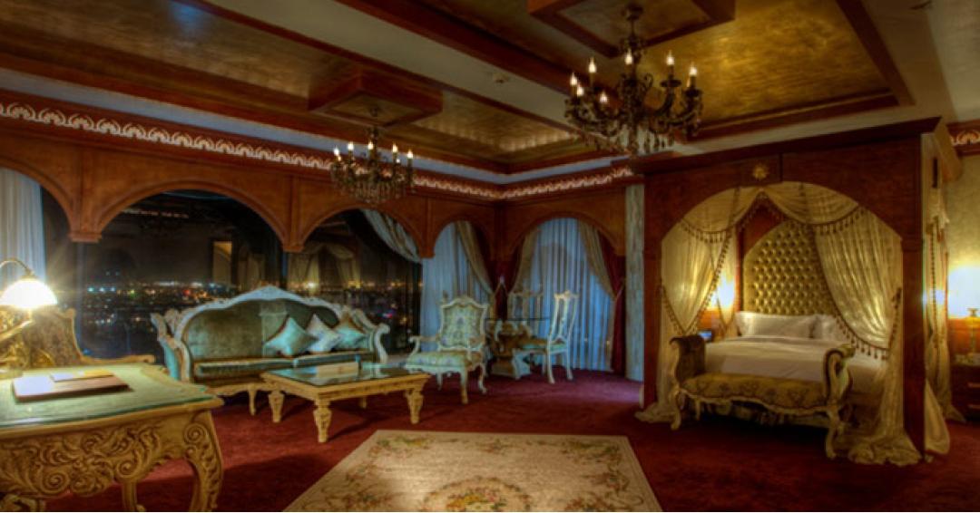 ماه عسل زیبا و ارام در هتل مجلل درویشی