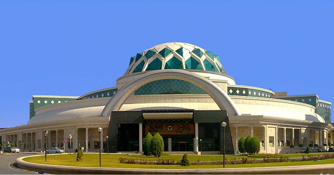 مجتمع تجاری تفریحی الماس شرق مشهد شرکت هواپیمایی پاژسیر مجری تورهای ورودی به مشهد