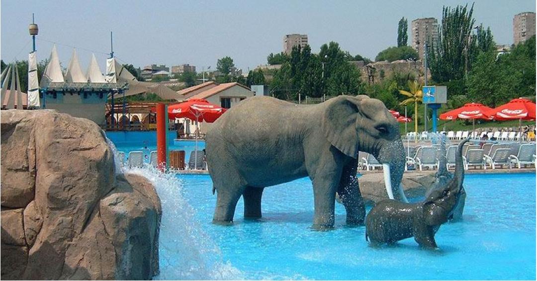 پارک آبی ارمنستان-شرکت هواپیمایی پاژسیر مجری تورهای اقساطی از مشهد