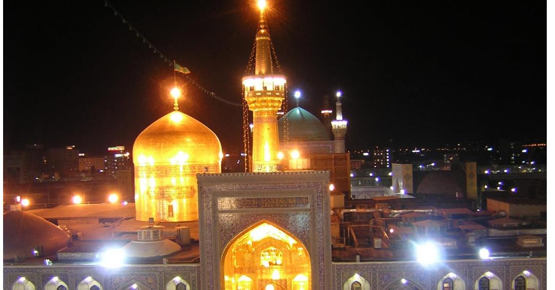 دیدنی های داخل حرم امام رضا - شرکت هواپیمایی پاژ سیر مجری تورهای اقساطی از مشهد