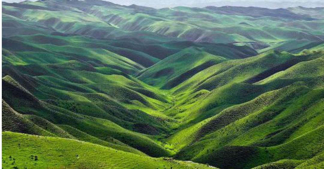 تپه ماهورهای هزار دره گلستان - شرکت هواپیمایی پاژسیر مجری تورهای اقساطی از مشهد