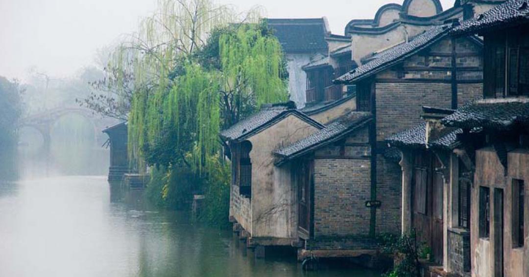 شهر آبی باستانی ووژن در چین - شرکت هواپیمایی پاژسیر مجری تورهای اقساطی از مشهد