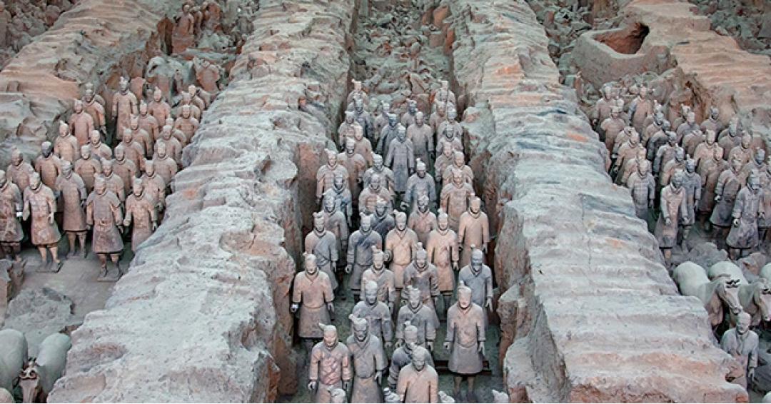 ارتش تراکوتا در چین - شرکت هواپیمایی پاژسیر مجری تورهای اقساطی از مشهد