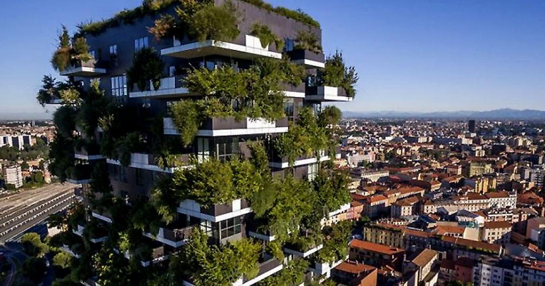 بوسکو ورتیکال جنگل عمودی در میلان- شرکت هواپیمایی پاژسیر مجری تورهای اقساطی از مشهد