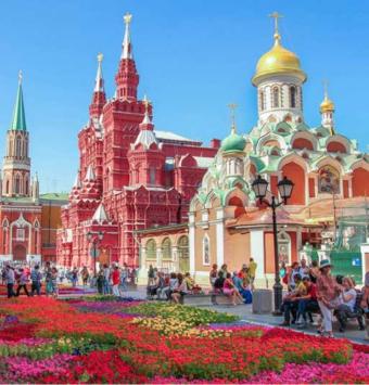 تور روسیه از مشهد  (مسکو و سنت پتزربورگ )  10 روزه - شرکت هواپیمایی پاژسیر مجری تورهای اقساطی از مشهد