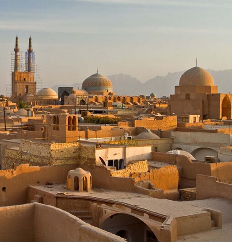 سفر به شهر بادگیرها   تاریخ حرکت 23بهمن 4روزه - شرکت هواپیمایی پاژسیر مجری تورهای اقساطی از مشهد